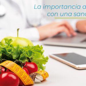 La importancia de iniciar el año con una sana alimentación.
